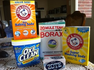 Borax Stain Remover Clothes